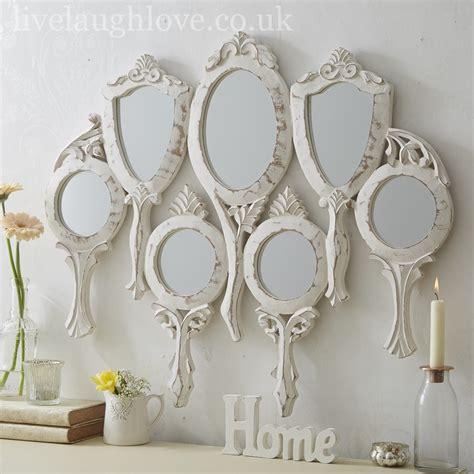 Handmade Mirrors Uk - 7 held large wall mirror live laugh