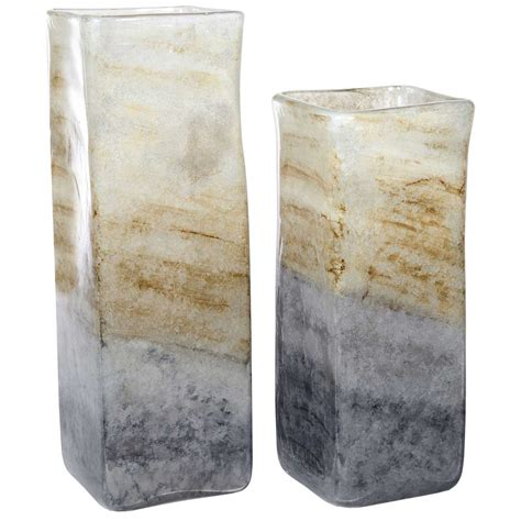 Small Square Vases by Amethyst Small Square Glass Vase A Handcrafted Home Accent