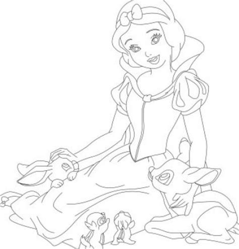 snow princess coloring pages princess snow white coloring pages
