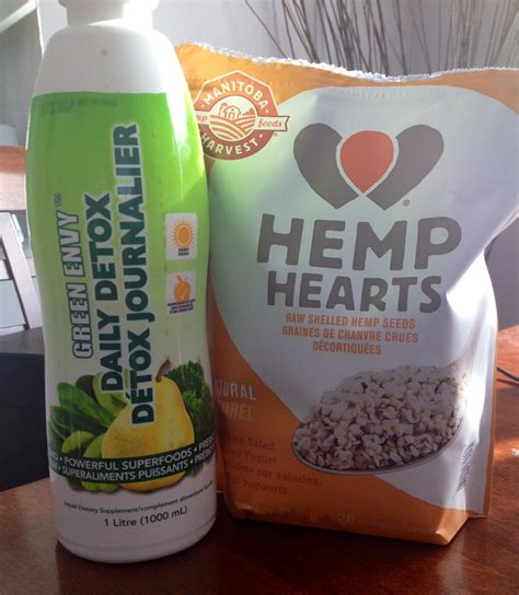 Green Envy Daily Detox Benefits by Green Envy And Hemp Hearts Two Of My Faves Fit