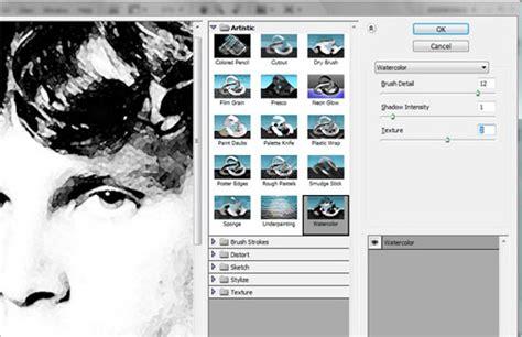 photoshop tutorial jim morrison efeito de pintura guache em foto pessoal tutoriais