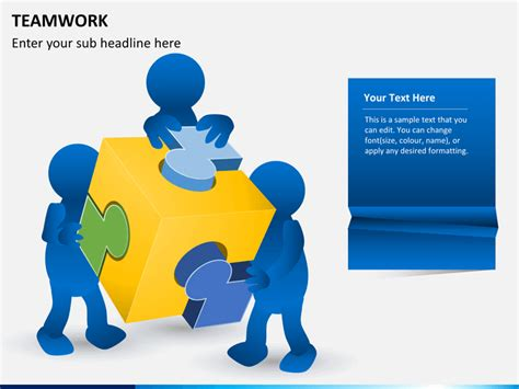 Teamwork Powerpoint Template Sketchbubble Teamwork Powerpoint Template