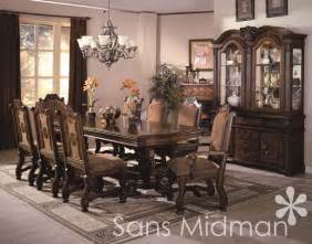Dining Room Set With Buffet And Hutch Formal 10 Dining Room Set Table 8 Chairs