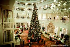 christmas trees at disney s wilderness lodge and disney s