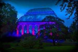 royal botanic garden edinburgh light exhibition in