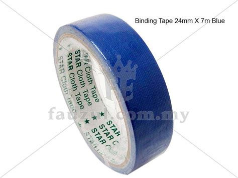 24mm X 6m binding 24mm x 6m blue fauzul enterprise