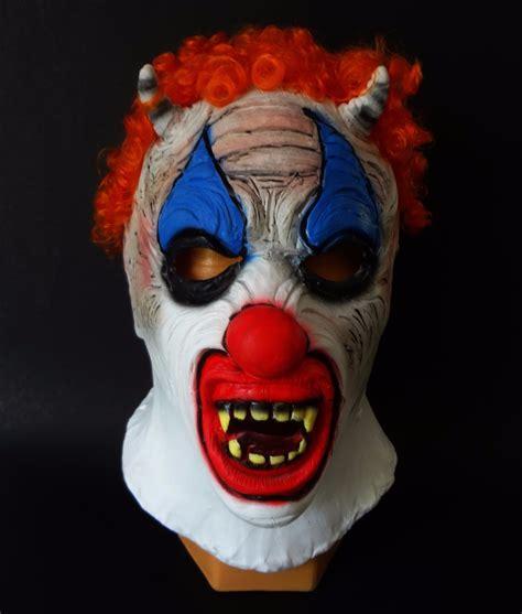 Luchadores Psicho Sin Mascara Circus   murder clown m 225 scara de latex psycho circus luchadores
