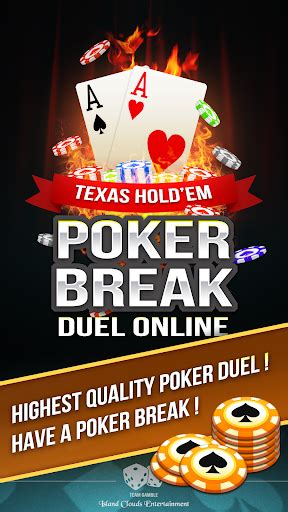 poker break texas holdem duel  mod apk unlimited