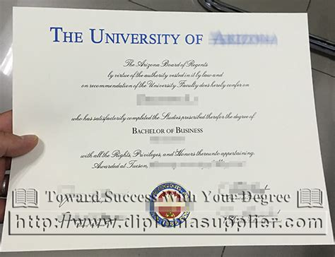 Mba Certificate For Sale by Of Arizona Eller College Of Management Bachelor