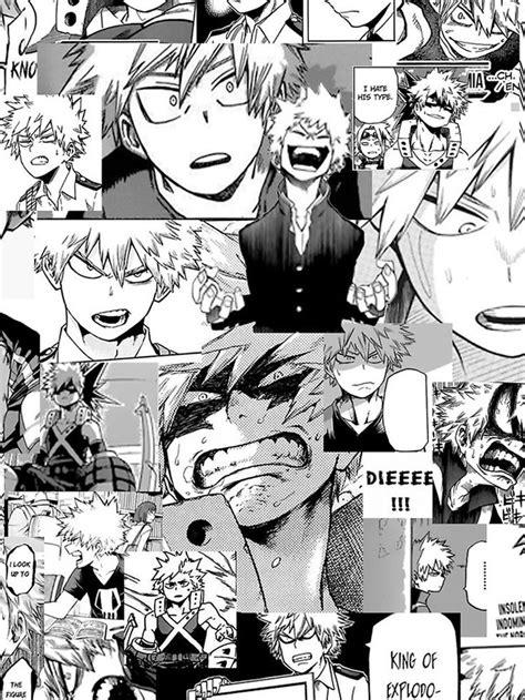 bakugou katsuki collage iphone case   hero