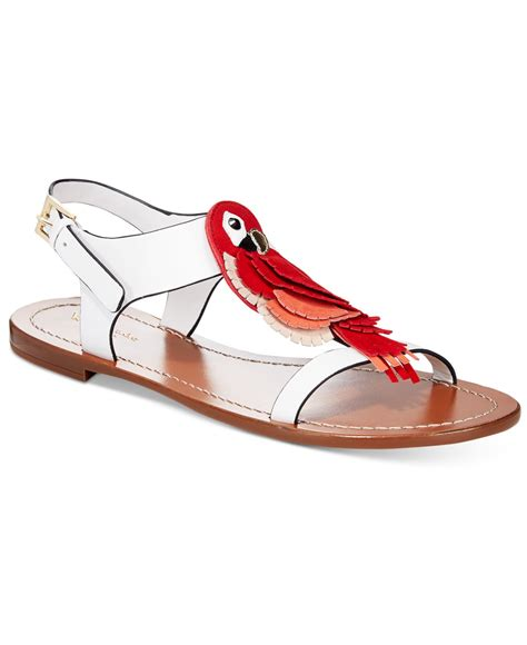 Genevieve Sandals By Kate Spade by Lyst Kate Spade New York Parrot Sandals In
