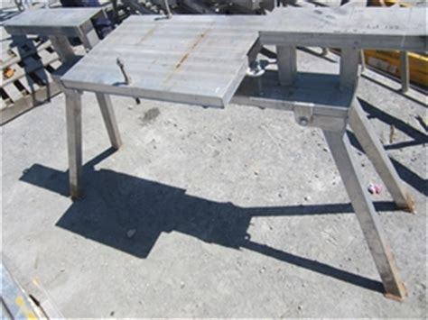 drop saw bench tommy tucker aluminium folding drop saw auction 0122
