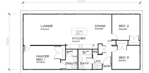 transportable house plans 3 bedroom transportable home 111sqm