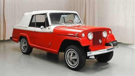 Jeep Jeepster 1968 Jeepster Convertible Review Top Speed
