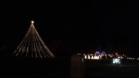 Texarkana Citizens Go All With Christmas Lights Synced Synced Lights
