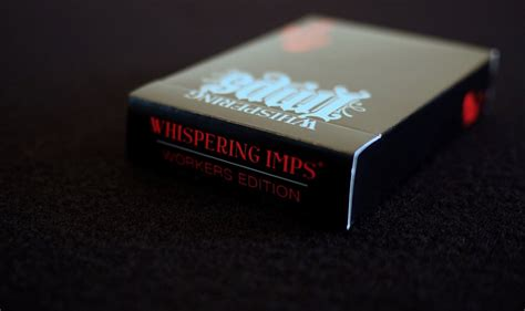 Whispering Imps Workers Edition Cards Bonus Deck whispering imps 174 cards workers edition