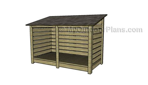 Firewood Shed Plans Free by 9 Free Firewood Storage Shed Plans Free Garden Plans How To Build Garden Projects