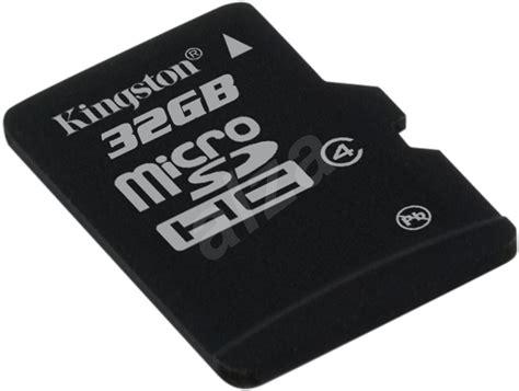 Micro Sdhc Kingston 8gb Class 4 kingston microsdhc 32 gb class 4 sd adapt 233 r pam 228 絅ov 225