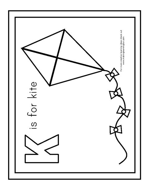 kite coloring pages preschool printable kite coloring pages coloring me