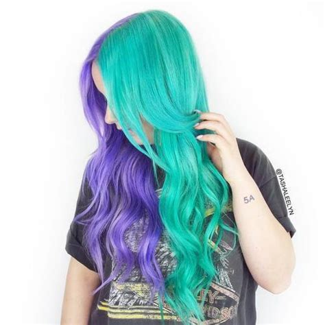 teal color hair 20 fresh teal hair color ideas for and brunettes