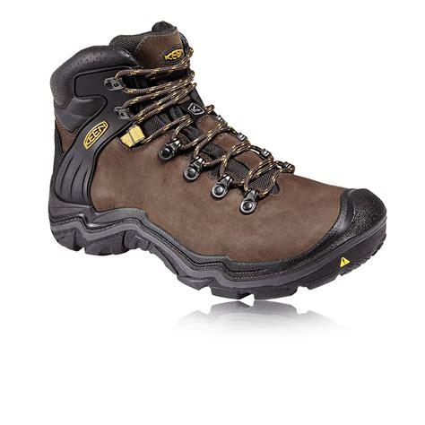 keen mens boots keen madeira peak mid mens brown waterproof walking hiking