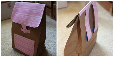 How To Make A Bag Out Of Construction Paper - daily backpack vacation bible school ideas
