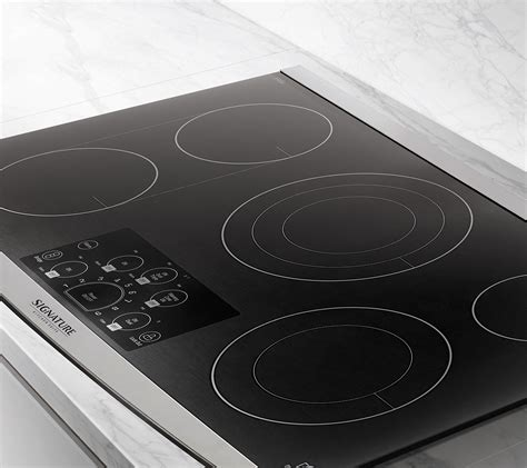 electric smooth top cooktops 36 quot electric cooktop signature kitchen suite