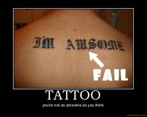 tattoo joke pictures new motivational posters funny emails