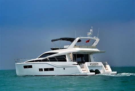 power catamaran for sale florida 2015 used hudson power catamaran boat for sale