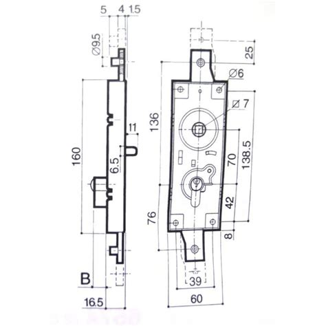 Mecanisme Fermeture Porte Garage Basculante by Serrure De Porte De Garage Basculante 2 Points Verticaux