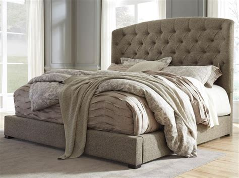 best 25 upholstered beds ideas on grey