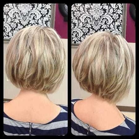 2018 latest inverted bob hairstyles back view