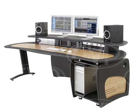 diy editing desk buy aka design proedit editing desk with 12u rack