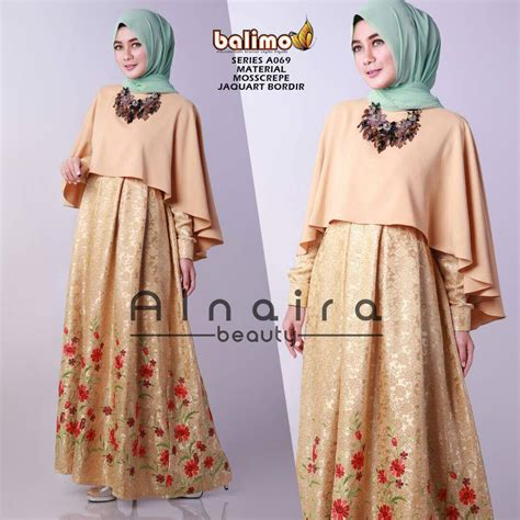 Baju Dress Cantik Non Ori 13 murah n ori collection a069 alnaira by balimo
