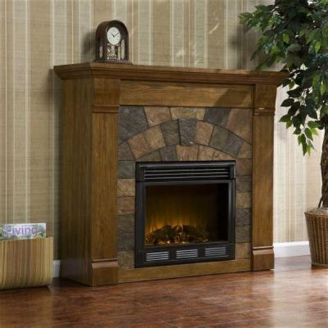 Salem Fireplace by Southern Enterprises Elkmont 46 In Electric Fireplace In