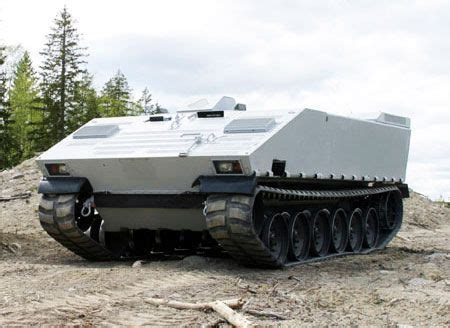 rubber tracks make military vehicles more efficient