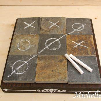 coffee table tic tac toe repurpose crafts archives family crafts