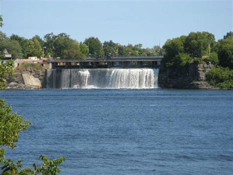 Rideau Falls by Gc1tez2 Rideau Falls Earthcache In Ontario Canada