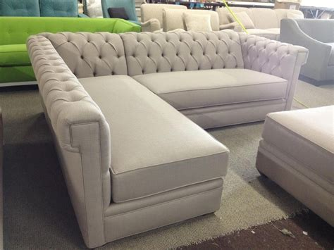 tufted sofa with chaise 20 photos tufted sectional sofa chaise sofa ideas