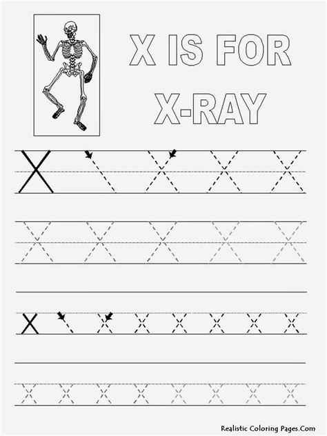 Letter X Worksheets by Pics For Gt Letter X Tracing Worksheets