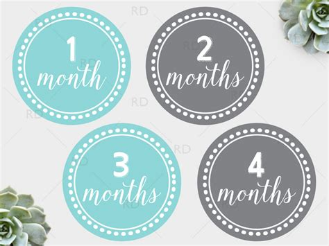 ri monthly home design 2016 free printable baby monthly milestone dots riss home