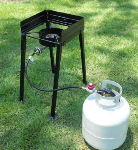 Kompor Gas Portable Backpacking Cing Stove king kooker cs14 portable propane 54 000 btu single burner outdoor c stove 28 inch