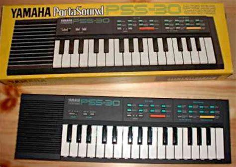 Keyboard Yamaha Mini yamaha pss 30 pss 130
