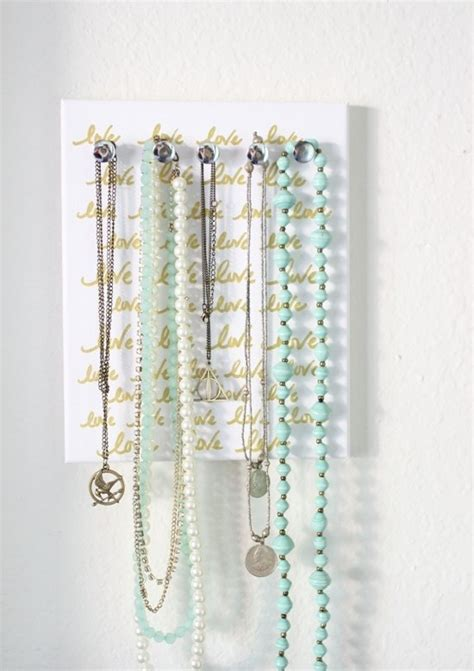 how to make jewelry holder cheap and practical necklace holders you can make yourself