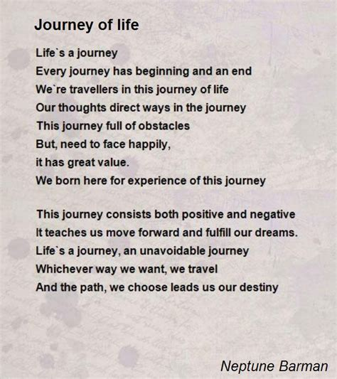 ozzie and i our journey to choosing the road less traveled books journey of poem by neptune barman poem