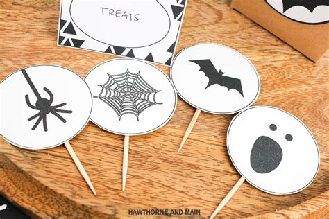 printable halloween ornaments halloween party printable hawthorne and main