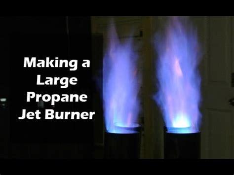 make a propane jet burner super sized for wok, seafood