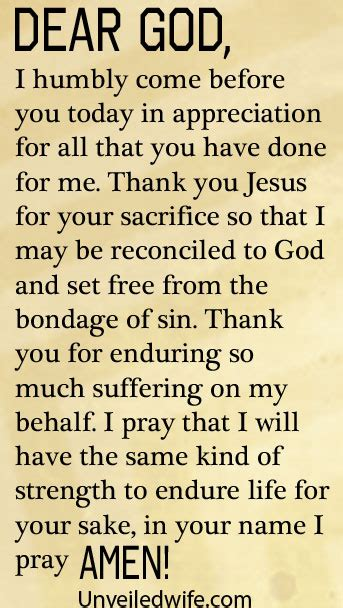 appreciation letter to god prayer of the day a of thankfulness