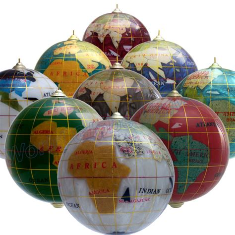 magellan 3 quot gemstone christmas globe ornament