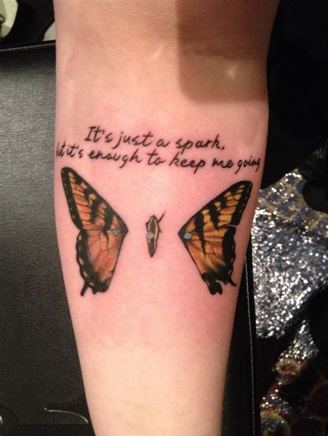 paramore tattoo paramore quot last quot lyrics ink